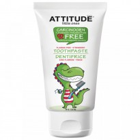 ATTITUDE, Little Ones, Toothpaste, Fluoride Free, Strawberry, 2.6 oz (75 g)