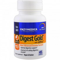 Enzymedica, Digest Gold with ATPro, 45 Capsules