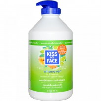 Kiss My Face, Whenever Conditioner, Green Tea & Lime, 32 fl oz (946 ml)