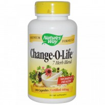 Nature's Way,  Change-O-Life, 7 Herb Blend, 440 mg, 180 Capsules