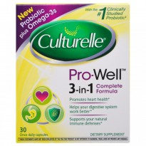 Culturelle, Pro-Well, 3-in-1 Complete Formula, 30 Capsules