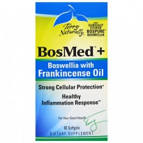 EuroPharma, Terry Naturally, BosMed + Bowellia with Frankincense Oil, 60 Softgels