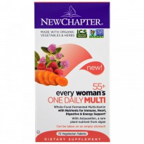 New Chapter, 55+ Every Woman's One Daily Multi, 72 Veggie Tabs