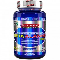 ALLMAX Nutrition, 100% Pure Beta-Alanine Maximum Strength + Absorption, 3200 mg, 3.5 oz (100 g)