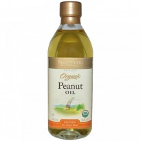 Spectrum Naturals, Organic Peanut Oil, Refined, 16 fl oz (473 ml)