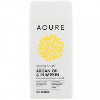 Acure Organics, Alluring Argan Body Wash, Argan Oil & Pumpkin, 12 fl oz (354 ml)