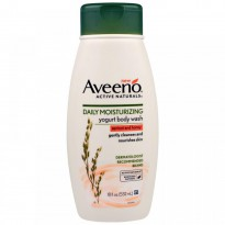 Aveeno, Active Naturals, Daily Moisturizing Yogurt Body Wash, Apricot and Honey, 18 fl oz (532 ml)