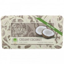 Desert Essence, Soap Bar, Creamy Coconut, 5 oz (142 g)
