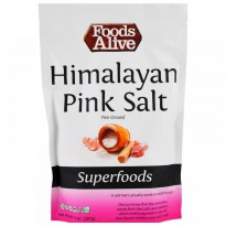 Foods Alive, Superfoods, Himalayan Pink Salt, Fine Ground, 14 oz (397 g)