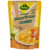 Kuhne, Ready to Use, Classic Sauerkraut, 14.1 oz (400 g)