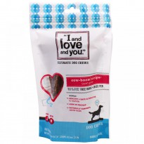 I and Love and You, Ultimate Dog Chews, Cow-Boom! Strips, Beef Gullet, 2 oz (56.7 g)