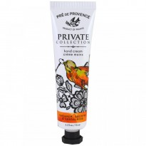 European Soaps, LLC, Pre de Provence, Private Collection, Hand Cream, Cardamom, Absinthe & Sandalwood, 2.3 fl oz (70 ml)