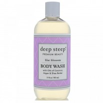 Deep Steep, Body Wash, Lilac Blossom, 17 fl oz (503 ml)