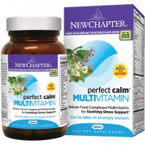 New Chapter, Perfect Calm Multivitamin, 144 Tablets