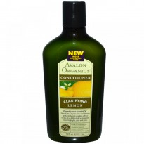 Avalon Organics, Conditioner, Clarifying, Lemon, 11 fl oz (325 ml)