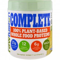 Raw Fusion, Complete, 100% Plant-Based Whole Food Proteins, Vanilla , 17.1 oz (483.7 g)