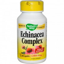 Nature's Way, Echinacea Complex, 450 mg, 100 Capsules