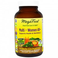 MegaFood, Multi for Women 40 +, 120 Tablets