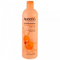 Aveeno, Positively Nourishing Antioxidant Infused Body Wash, White Peach + Ginger, 16 fl oz (473 ml)