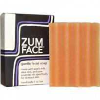 Indigo Wild, Zum Face, Gentle Facial Bar Soap, 3 oz