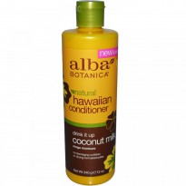 Alba Botanica, Natural Hawaiian Conditioner, Drink It up Coconut Milk, 12 oz (340 g)