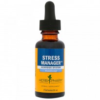 Herb Pharm, Stress Manager, 1 fl oz (30 ml)