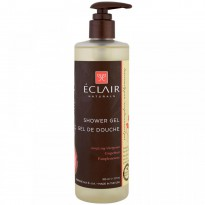 Eclair Naturals, Shower Gel, Energizing, Grapefruit, 12 fl oz (355 ml)