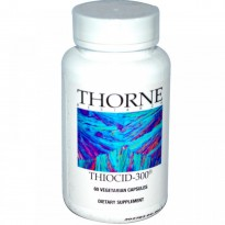 Thorne Research, Thiocid-300, 60 Vegetarian Capsules