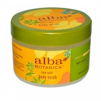 Alba Botanica, Body Scrub, Sea Salt, 14.5 oz (411 g)