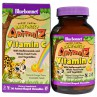 Bluebonnet Nutrition, Super Earth, Rainforest Animalz, Vitamin C, Natural Orange Flavor, 90 Chewables